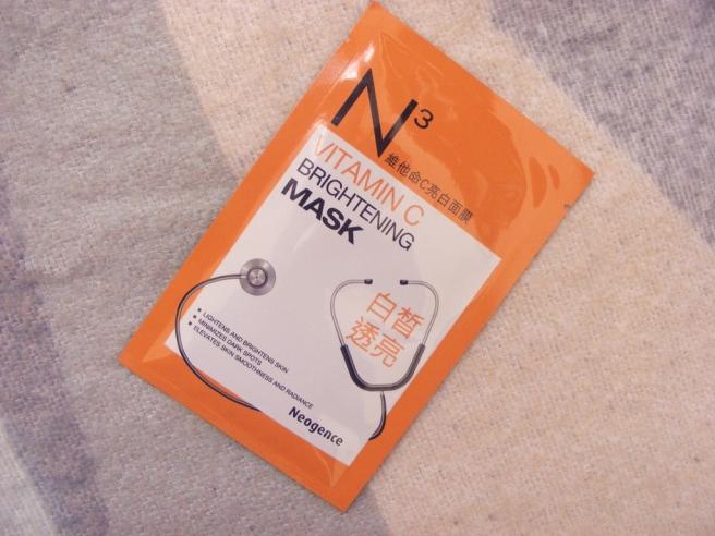 neogence c-vitamin maszk