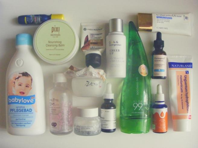 bőrápolási rutin